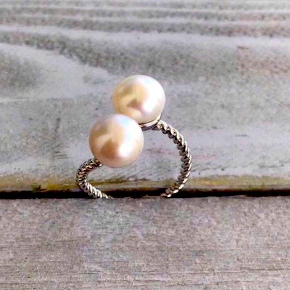 925 Freshwater Pearl Ring